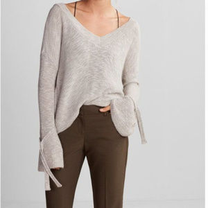 Express Cropped Bell Sleeve Sweater - SZ M